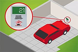 Garage Parking Assistant - Park your vehicle precisely and consistently. Large Digital Display to show the distance from the wall - No more scratched bumper !