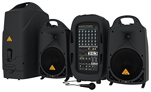 Behringer EUROPORT PPA2000BT Portable PA-Anlage