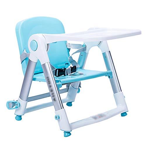 Qujifangedcy Kinderen Eetkamerstoel, Vouwen Draagbare 3 in 1 Kid Kinderstoel Multifunctionele Eet met Speeltafel, voor Thuis, voor 0-4 Jaar Oude Kinderen