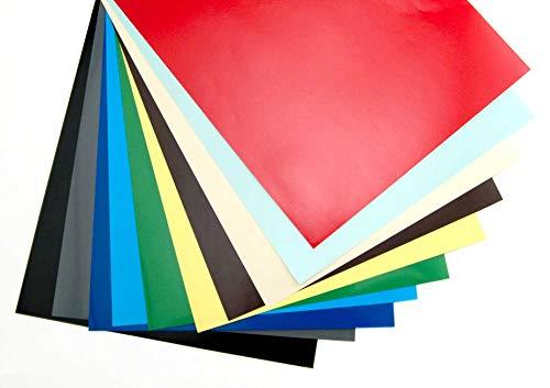 Hygloss Products 86208 Posterkarton, glänzend, 25 Blatt, 20,3 x 27,9 cm, sortiert