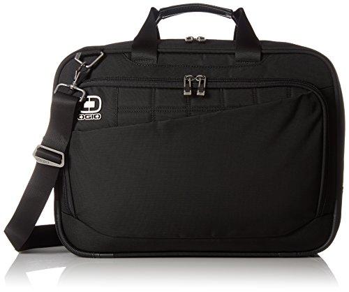 "OGIO International Instinct Top Zip Laptop Backpack, Black, 12.25""H x 16.75""W x 7.5""D"