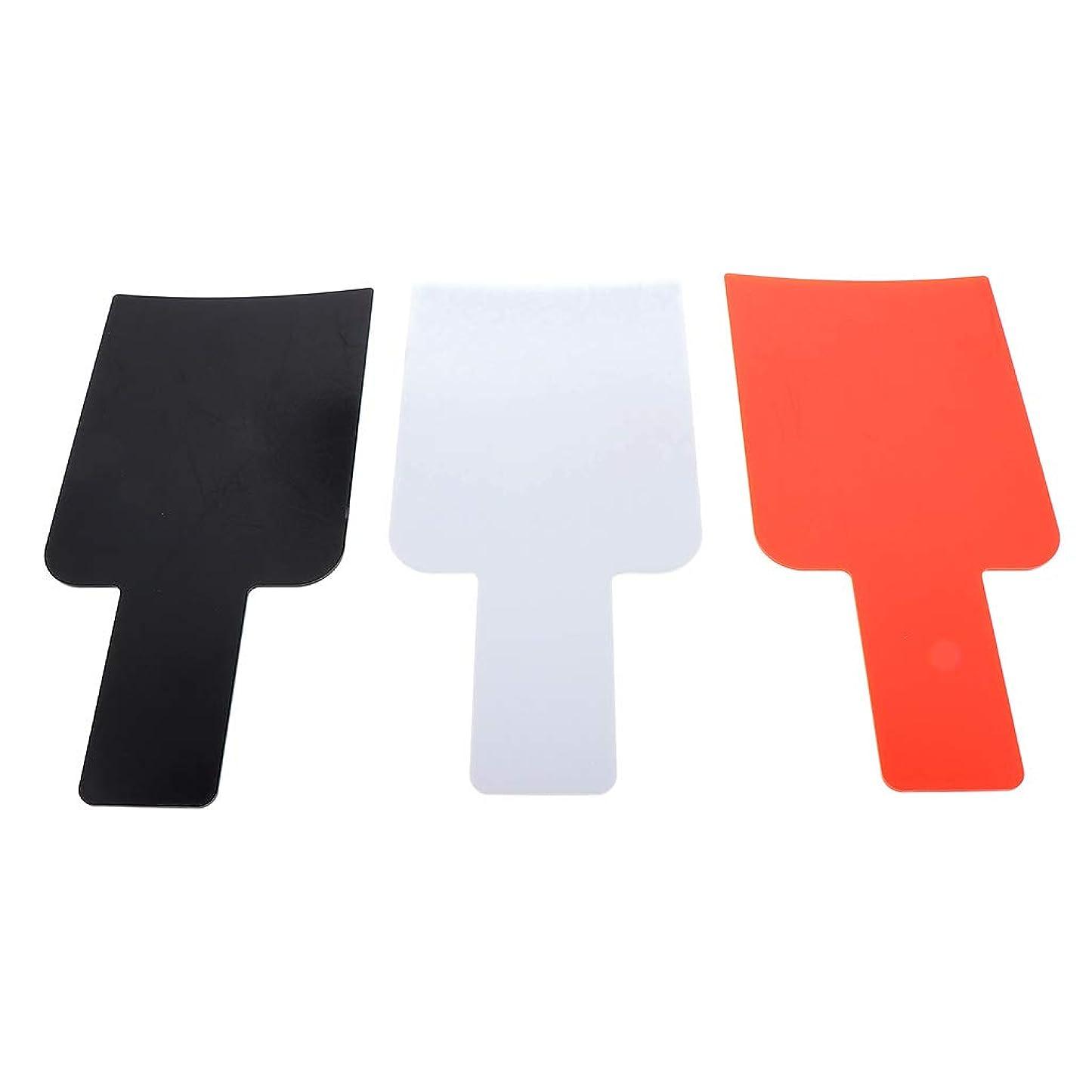 控える第三変装T TOOYFUL ハイライトボード ヘアカラーボード DIY髪染め用 毛染め ヘアカラーの用具 使いやすい 3個入