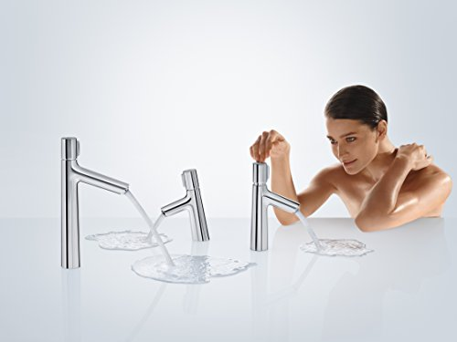 Hansgrohe – Waschtisch-Einhebelarmatur, ohne Ablaufgarnitur, Select, Chrom, Serie Talis Select S - 3