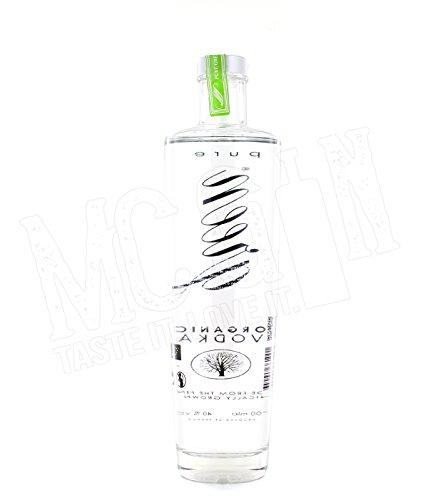 Pure Green Organic französischer Bio Vodka (1 x 0.7 l)