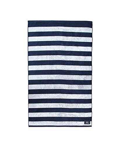 Atlantic Shore | Surf Fashion  Beach Towel/Telo Mare in Cotone di Alta Qualità  Stripes (160x 90cm)