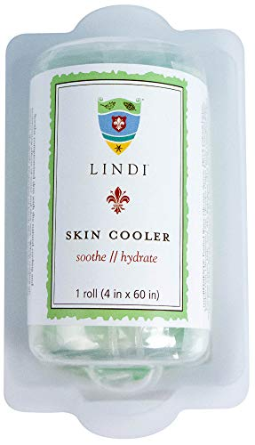 LINDI SKIN: Cooler Roll - Cooling Hydro-Gel Formulated To Reduce Redness And Inflammation (1 Roll, 4 in. wide x 60 in. long)
