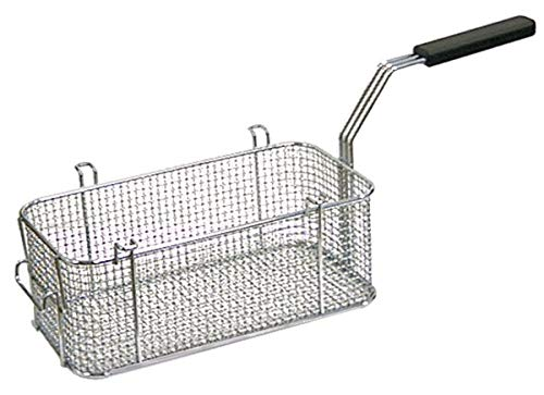 Frittierkorb Gastro LxBxH 310x160x115 mm Stahl verchromt Fritteusenkorb für MKN