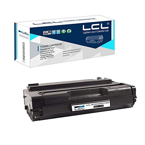 LCL Cartucce di Toner Compatibile 407246 3500Pagine High Yield SP311 SP311DN SP311DNW SP311SFN SP311SFNW SP325DNW SP325SFNW SP325SNW (1 Nero) Sostituzione per Ricoh SP 311DN 311DNW 311SFN 311SFNW