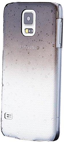 Samsung Galaxy S5 y S5 NEO   iCues gota de agua Caso Negro   Transparente lámina protectora de la piel Claro Claro protectora transparente de protección [protector de pantalla, incluyendo] Cubierta Cubierta Funda Carcasa Bolsa Cover Case