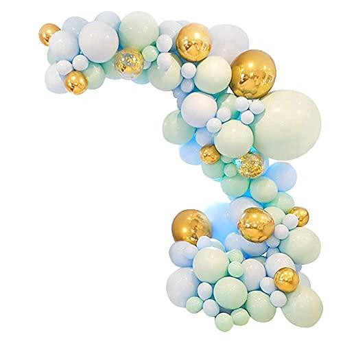 topxingch 112/126/169 Decoraciones De Fiesta, Kit De Guirnaldas De Globos Coloridos con Cadena De Globos para Boda, Cumpleaños, Fiesta, Graduación, Decoración UN