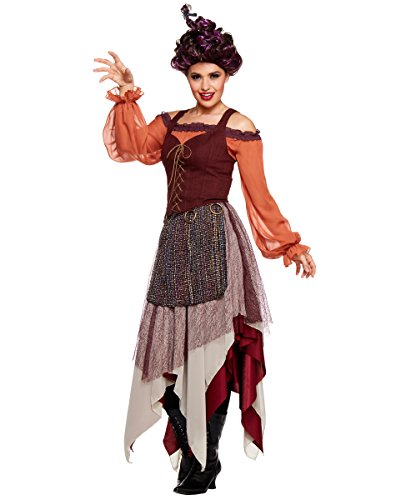 Spirit Halloween Adult Mary Sanderson Hocus Pocus Costume | Officially Licensed