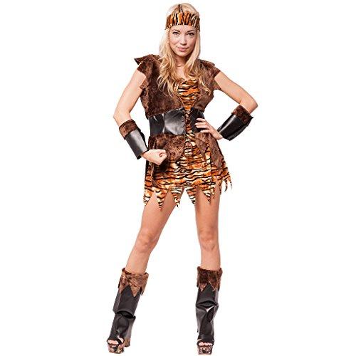 EraSpooky Disfraz prehistórico para Mujer Vestido de fantasía Cosplay Traje de Fiesta de Halloween para Adulto