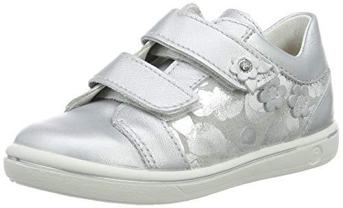 RICOSTA Mädchen Niddy Sneaker, Grau (Silber/Graphit 412), 25 EU