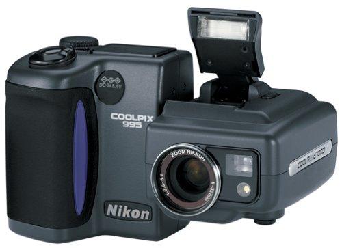 Nikon Coolpix 995 3.2MP Digital Camera with 4x Optical Zoom