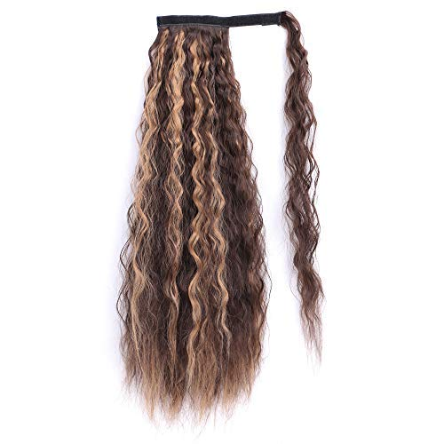 Kinky Curly Wrap Around Clip-in Ponytail Extension