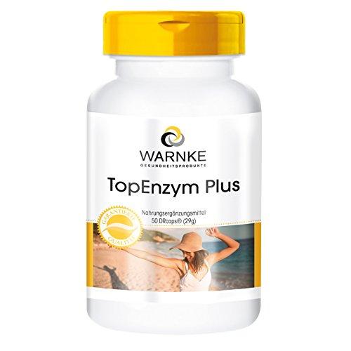 Enzym Komplex - Bromelain, Trypsin, Chymotrypsin und Rutosid - Topenzym Plus - 50 Kapseln