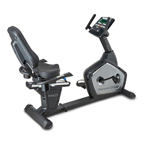 JK FITNESS - DIAMOND D39 - Bicicleta Estáticas reclinada