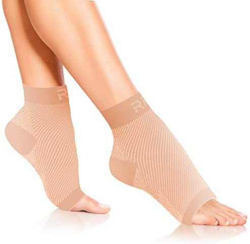 Plantar Fasciitis Foot Compression Sleeves for Injury Rehab Joint Pain Best Ankle Brace Instant product image