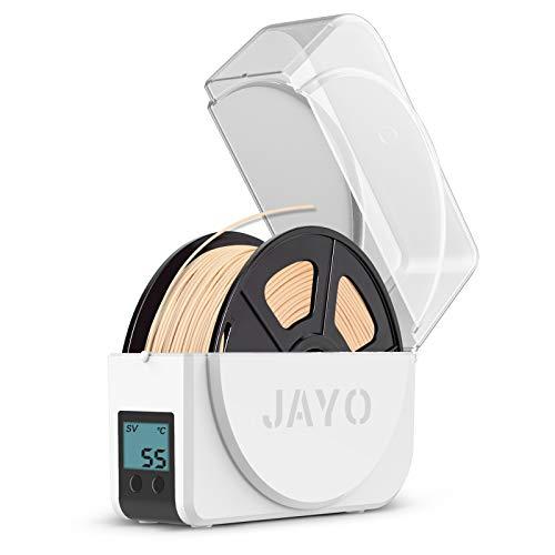 Scatola Essiccatore Filamento Stampante 3D, JAYO Filamento Dryer Box Residui Umidità Migliora in Funzione, Filament Storage Dry Box Compatibilità Filamento 3D PLA PETG ABS