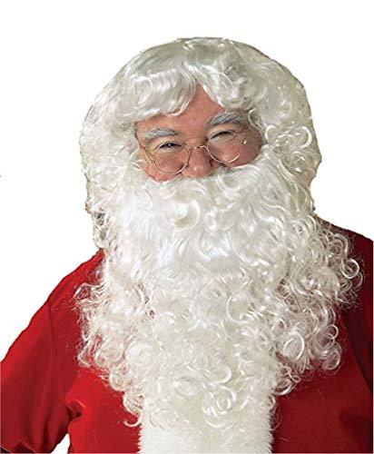 Rubie's Costume Co. Santa Beard, Wig, and Glasses S