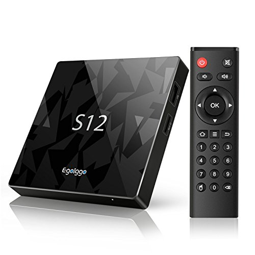 TICTID S12 TV Box Android / Android 6.0/ Amlogic S912 Qcta Core ARM Cortex-A53 CPU / 2G DDR3 + 16G Emmc /Dual Band WiFi / 1000M LAN / Bluetooth 4.1 /4K HD Box TV android