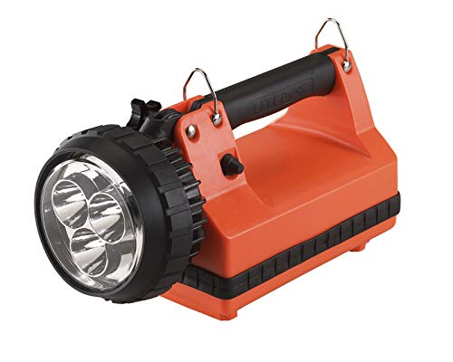 Streamlight 45858 Sistema de Fallo de Alimentación E - Spot 230 V Ac/12 V DC, Correa de Hombro y Estante de Montaje, Color Naranja