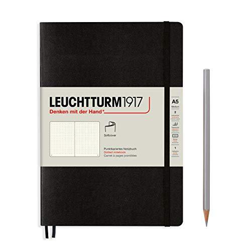 LEUCHTTURM1917 324804 Libreta de notas Medium (A5) tapas blandas, 123 páginas numeradas,...