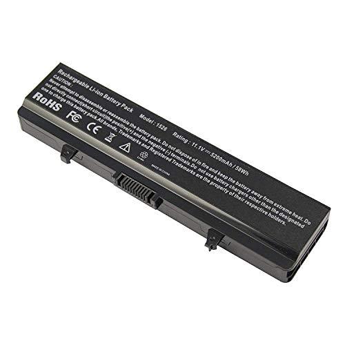 onlyguo 11.1V 5200mAh GP952 M911G GW240 K450N G555N J399N RN873 0F972N G558N C601H Reemplazo de batería de iones de litio para Dell Inspiron 1545 1440 PP29L PP41L 1525 1526 1546 1750 Series Vostro 500