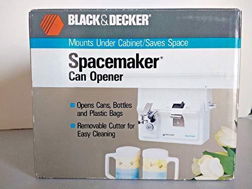 BLACK AND DECKER SPACEMAKER CAN OPENER EC60G