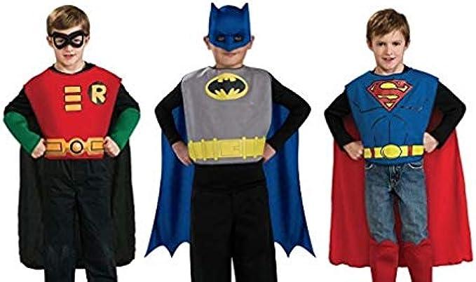Rubie's DC Comics Kids Action Trio Superhero Costume Set
