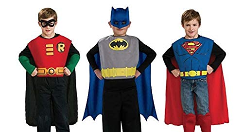 Rubie's DC Comics Kids Action Trio Superhero Costume Set