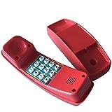 Loggyland Kindertelefon für Spielturm Spielhaus (rot)