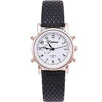 Beni新しい女性のシンプルなデジタルフェイスファッション時計クォーツ時計