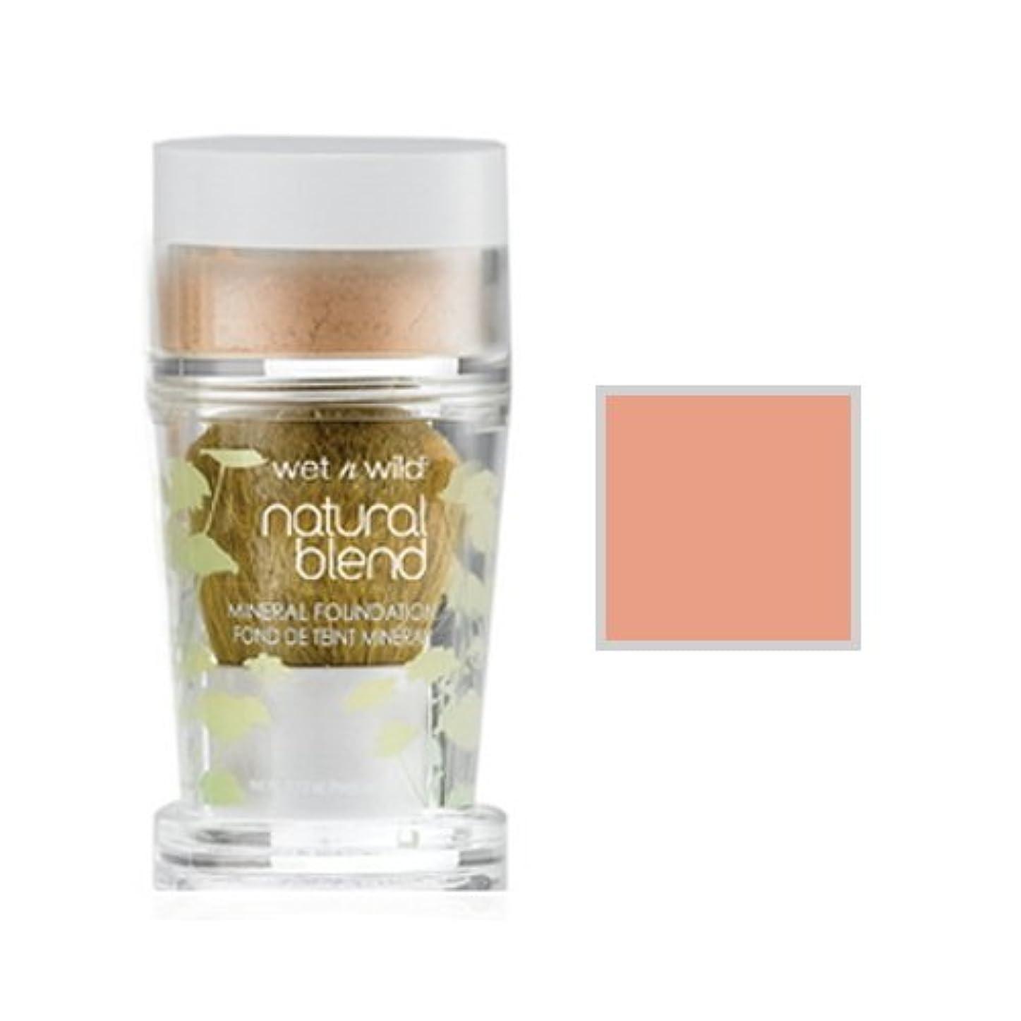側溝ハプニング拮抗WET N WILD Natural Wear Blend Mineral Foundation - Light (並行輸入品)