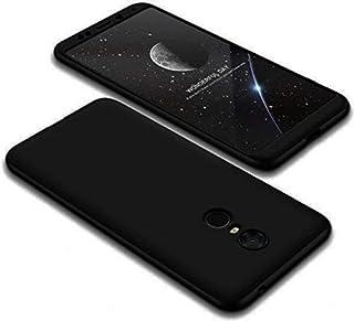 Xiaomi redmi 5 plus 3 pcs anti fall case 360 full cover black
