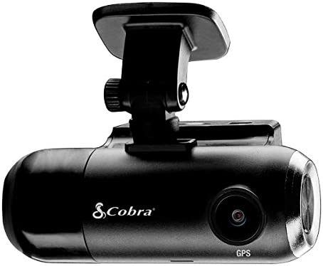 Cobra Smart Dash Cam with Interior Cam SC 201 Full HD 1080P Resolution Built in WiFi GPS 16GB product image