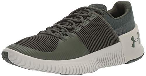Under Armour Herren Ultimate Speed NM Turnschuh, Downtown Green (300)/Ghost Gray, 42 EU