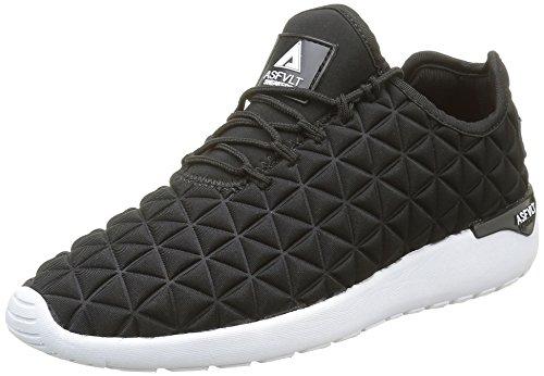 Asfvlt Speed, Unisex-Erwachsene Sneakers, Schwarz - Noir (Black Neo Triangle) - Größe: 37