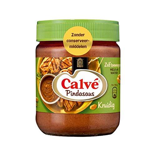 Calve Erdnusssoße Würzig 350 g- köstlich zu orientalischen Gerichten