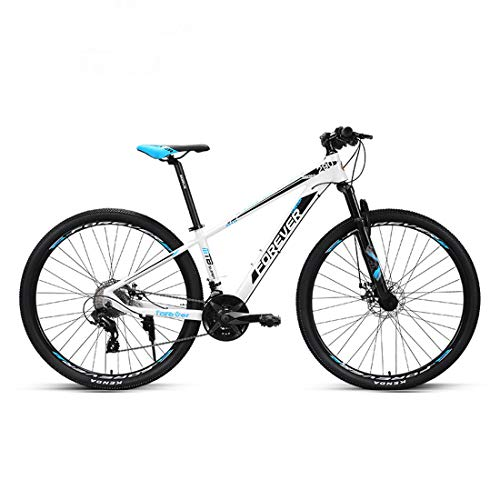 CPY-EX Bicicleta de montaña, Off-Road Bike, 27 de Velocidad, Doble absorción de Choque de 29 Pulgadas diámetro de Las Ruedas, Frenos de Disco, Neumáticos Grandes,B