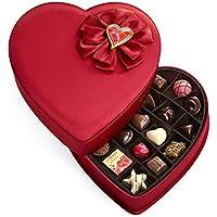 Godiva 25-Piece Valentine's Fabric Heart Gift Box