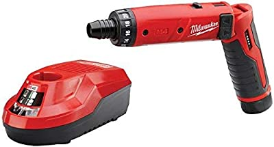 Milwaukee M4 4-Volt Lithium-Ion Cordless 1/4 in. Hex Screwdriver 2-Battery Kit by Milwaukee