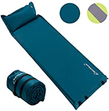Self Inflating Sleeping Pad for Camping - 1.5/2/3 inch Camping Pad, Lightweight Inflatable Camping Mattress Pad, Insulated Foam Sleeping Mat for Backpacking, Tent, Hammock