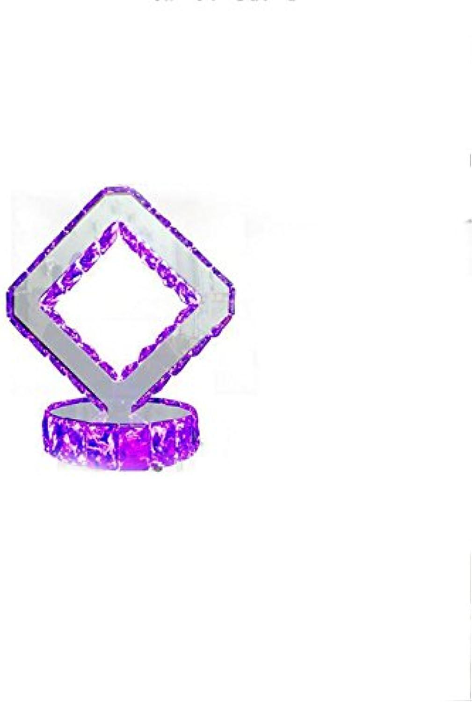 GYP Led Schlafzimmer Nachttischlampe, kreativ kreativ kreativ 7 Farbe Kristall Tisch Lampe Hochzeit Geschenk Kristall Tischlampe Valentinstag Geschenk 20  32cm Dimmer Schalter ( größe   2032cm ) B077X63D7F       Helle Farben  883ace