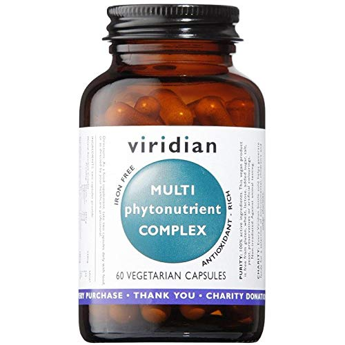 Viridian Multi-PhytoNutrient Multivitamin and Phyto Nutrient Complex - 60 Capsules
