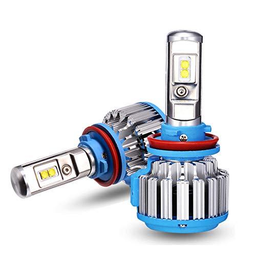 Ampoules De Phares À LED 3300LM 35W 6000K IP67 Super Brillantes Et Étanches, Kit De Remplacement Pour Ampoules Halogènes Et DHI,H1