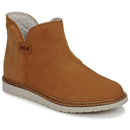 Helly-Hansen Womens Seraphina Demi Waterproof Boot, Low-Cut, Slip On, 725 New Wheat/Natura, 7