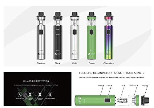 Incon 24 Vaptio Solo 2 ® Kit 50w 4.0ml Tank All-in-one E-shisha E Zigarette Geeignet auch Für Anfänger cigarette Ohne Nikotin Ohne E Liquid Nicotine Free ( Schwarz  )