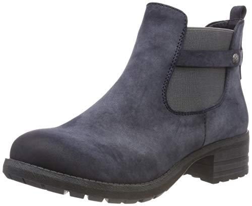 Rieker Damen Chelsea Boots, Blau