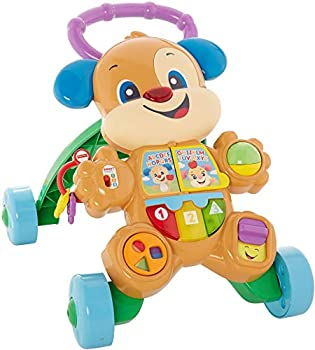 Fisher-Price Laugh & Learn Smart Stages Learn with Puppy Walker Musical Walking Toy for Infants and Toddlers Ages 6 to 36 Months